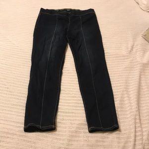 Nine West skinny Jeans Womens 12 dark blue denim